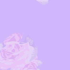 Vintage Lavender Rose