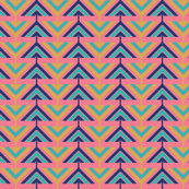 Simple aztec triangles
