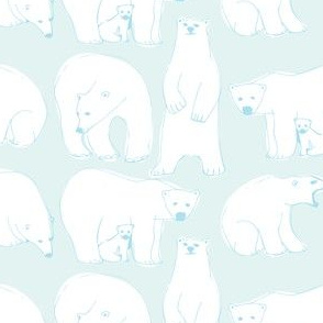 Polarbears blue
