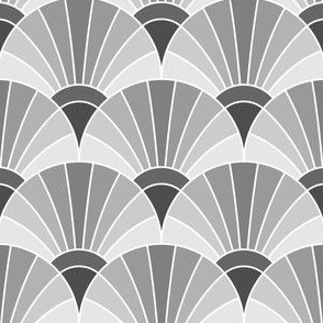 05294854 : fan scale : grey gray