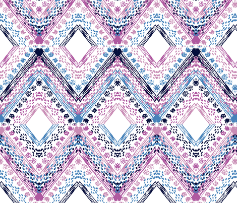 abstract ornament fabric by chantall on Spoonflower - custom fabric
