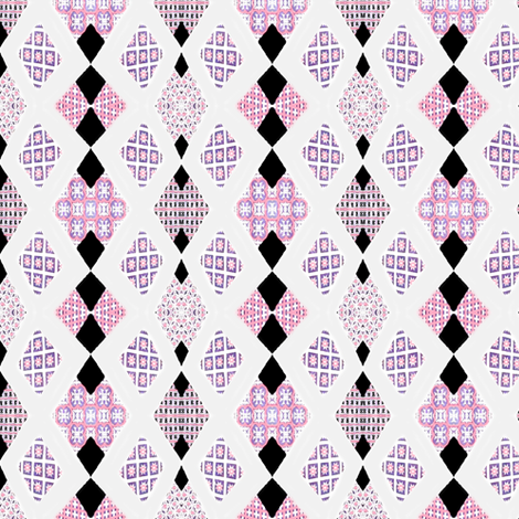 Diamond Chains fabric by robin_rice on Spoonflower - custom fabric