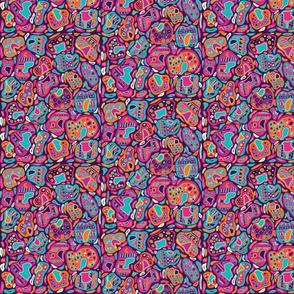 Aztec Geometric Leopard Print