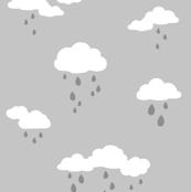 Gray Sky Rain Clouds