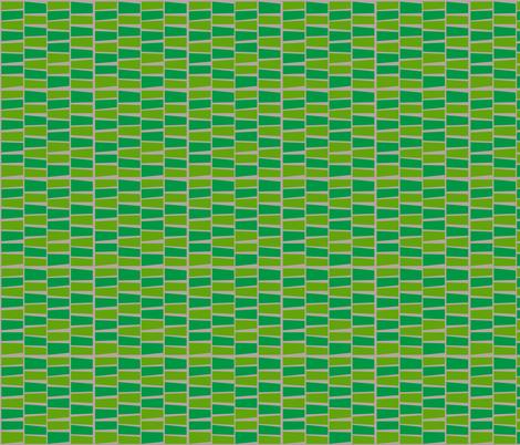 green scene midcentury block print fabric by kheckart on Spoonflower - custom fabric