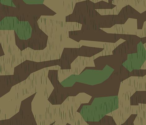 Splinter A Spring Camo Sparse Rain Drops fabric by ricraynor on Spoonflower - custom fabric