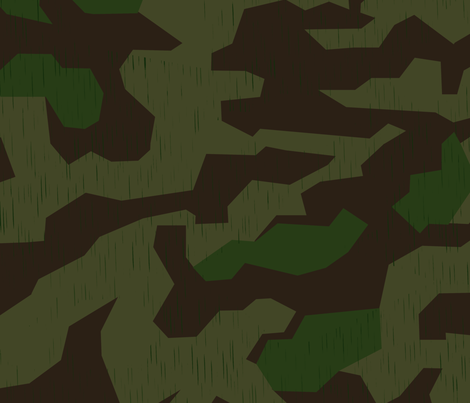 Splinter A Camo Sparse Rain Drops fabric by ricraynor on Spoonflower - custom fabric