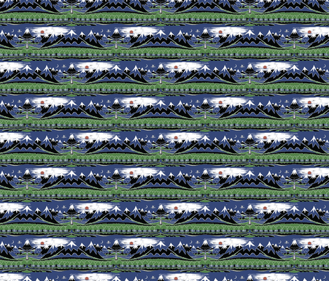 The Hobbit Small Horizontal Repeat fabric by fandomfabric on Spoonflower - custom fabric