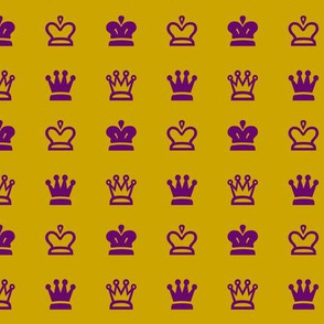 Royal Mustard & Deep Plum