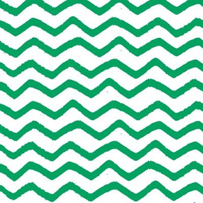 Green Marker Chevron