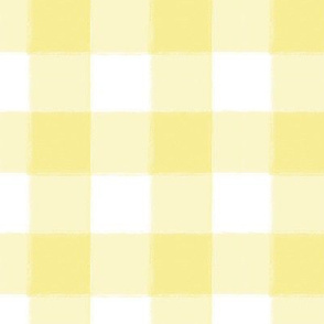 Small Yellow Buffalo Check Gingham