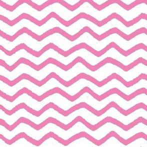 Pink Marker Chevron
