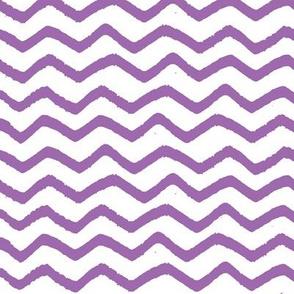 Purple Marker Chevron