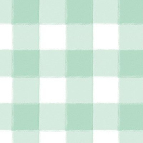 Small Mint Buffalo Check Gingham