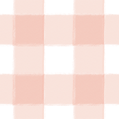 Small Blush Pink Buffalo Check Gingham