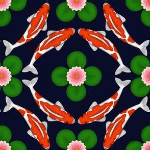 Koi Pond Kaleidoscope