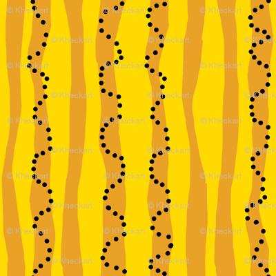 stripes of a pillow: dream kangaroo