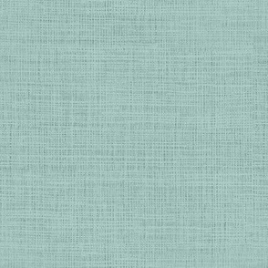 Linen Solid in Vintage Seafoam