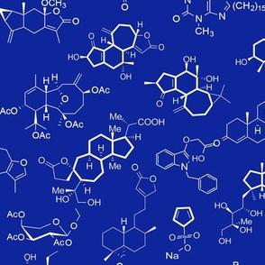 Molecules - Blue - Small