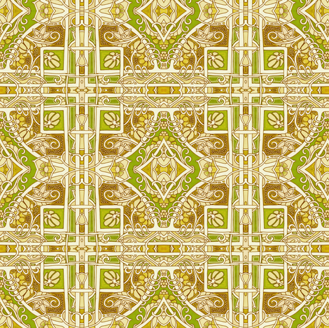 Circle Diamond Square There fabric by edsel2084 on Spoonflower - custom fabric