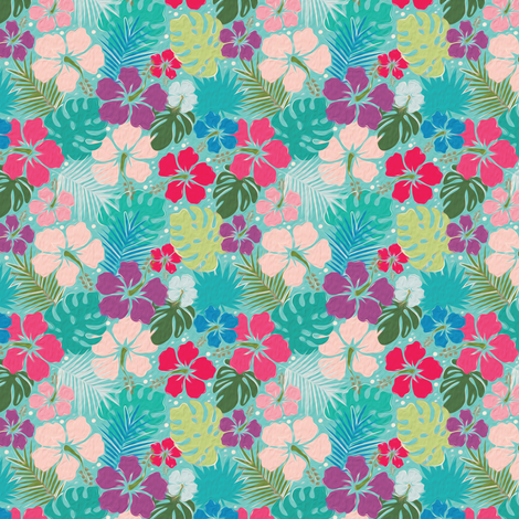 Hawaii fabric by leventetladiscorde on Spoonflower - custom fabric