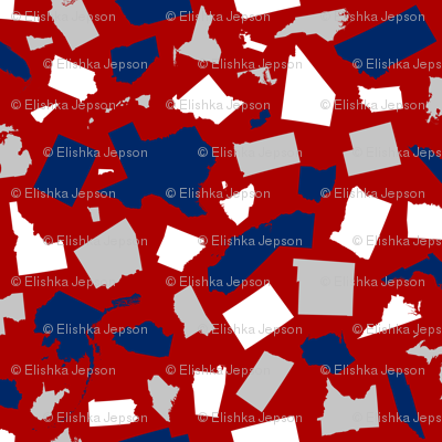 United States Scatter (Red)