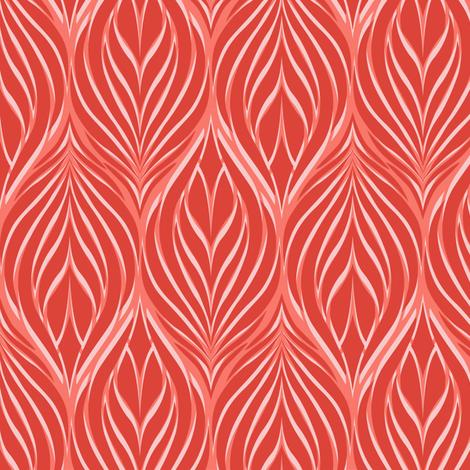 OrganicLeaf_Fiesta fabric by elizabethhalpern on Spoonflower - custom fabric