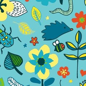 Ducks & Frogs in the Garden - Large