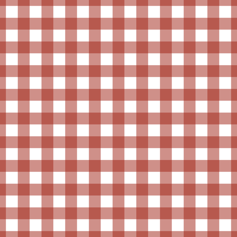 Campfire Gingham fabric by 13sparrows on Spoonflower - custom fabric