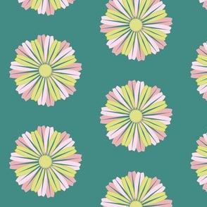 Waterflower_pink_green