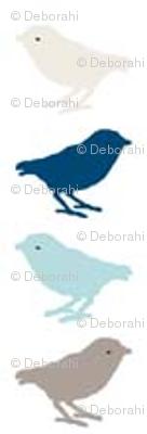 songbirds mini - blue