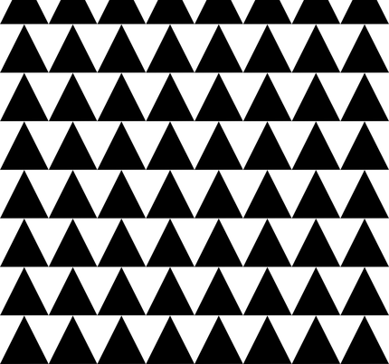 large triangle fabric by pennyfarthing on Spoonflower - custom fabric