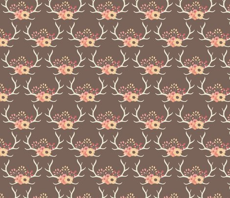 Floralantlers-brown2_shop_preview