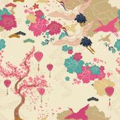 Japanese Crane Blossom