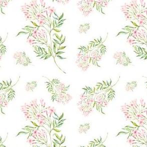 Pink Paradise - White