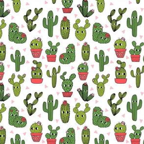 cactus // happy cactus cute funny summer succulent cacti plants