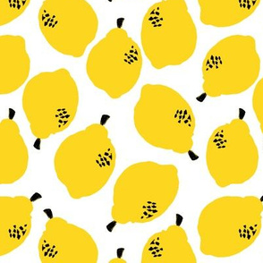 lemons // lemon fruit summer yellow citrus