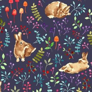 Forest bunnies