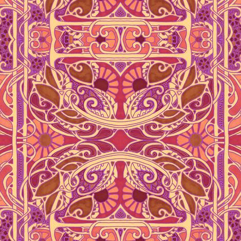 Daisy Daze Day fabric by edsel2084 on Spoonflower - custom fabric