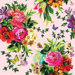 """12"""" Floral Pop / PINK"""