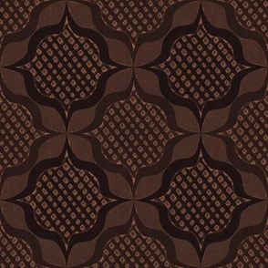 trellis medallions chocolates