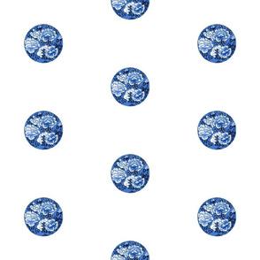 Japanese Spot Camellia  dark blue