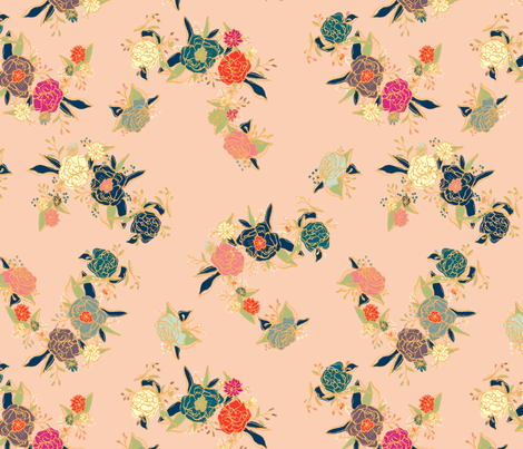 Garden fabric by maggiesommers on Spoonflower - custom fabric