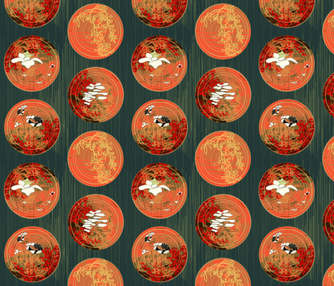 Imperial garden fabric by sanois_passion on Spoonflower - custom fabric