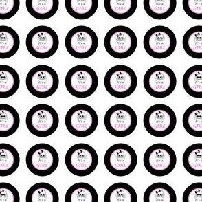 Circles Girly Skulls pink 6