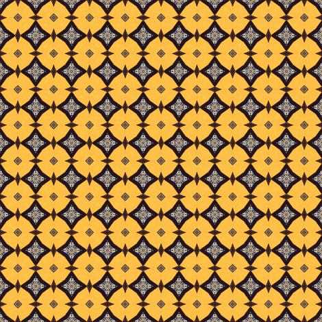 Interlocked: Circular Version fabric by ginascustomcreations on Spoonflower - custom fabric