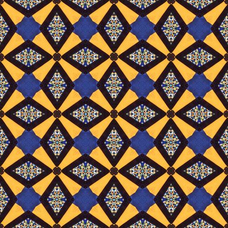 Diamond Cut fabric by ginascustomcreations on Spoonflower - custom fabric