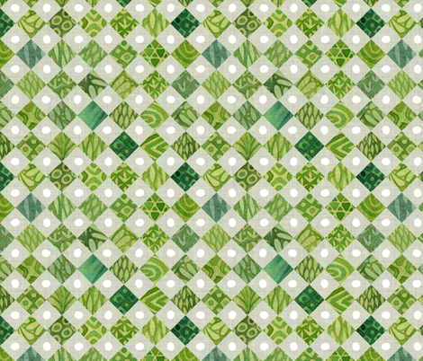 Watercolour Tile large fabric by spellstone on Spoonflower - custom fabric