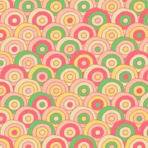 Concentric Circles (tutti frutti)