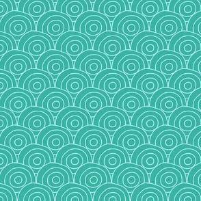 Circular Turquoise